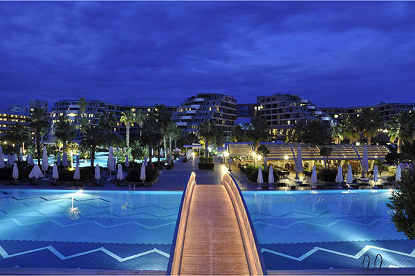 Susesi Luxury Resort Plaj - İskele