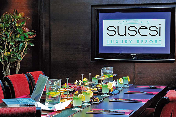 Susesi Luxury Resort Toplantı Salonu